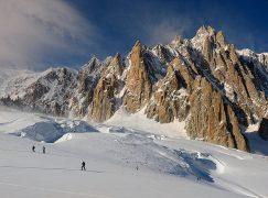 Freeride fotografico in Vallee Blanche | Massiccio del Monte Bianco