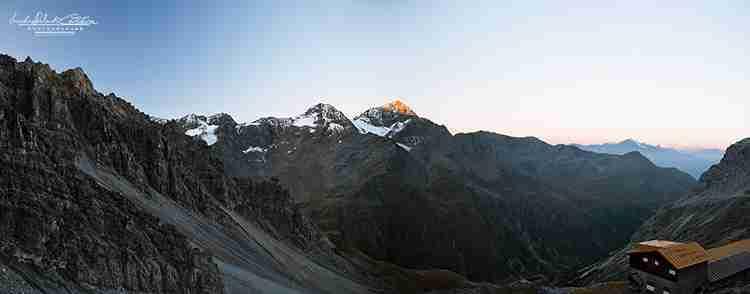 Monte Confinale e Rifugio V Alpini