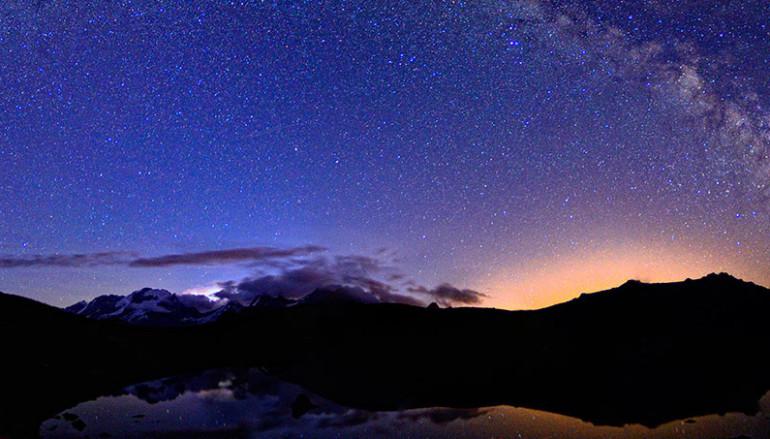 Workshop fotografico cielo notturno nel Parco del Gran Paradiso