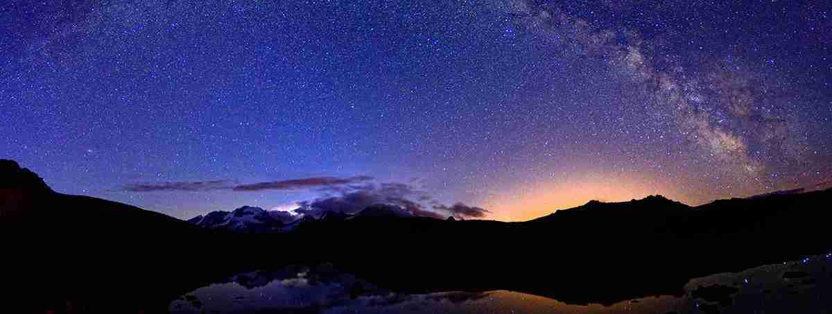 Sfondi whatsapp cielo stellato