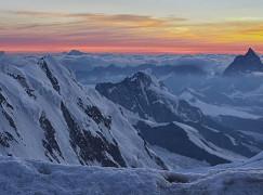 Scialpinismo e fotografia a Capanna Margherita