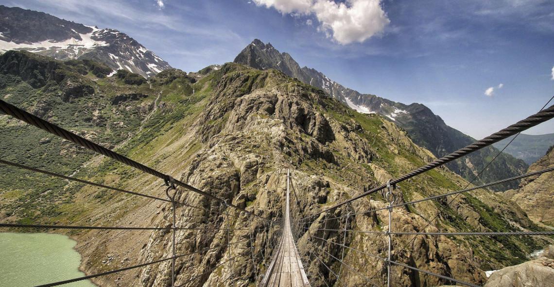Photoday – Triftbrücke, il ponte sospeso