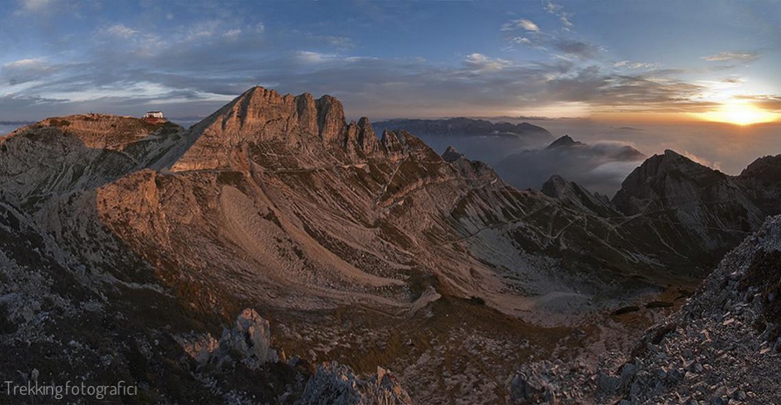 Alba e tramonto nelle Piccole Dolomiti – Carega