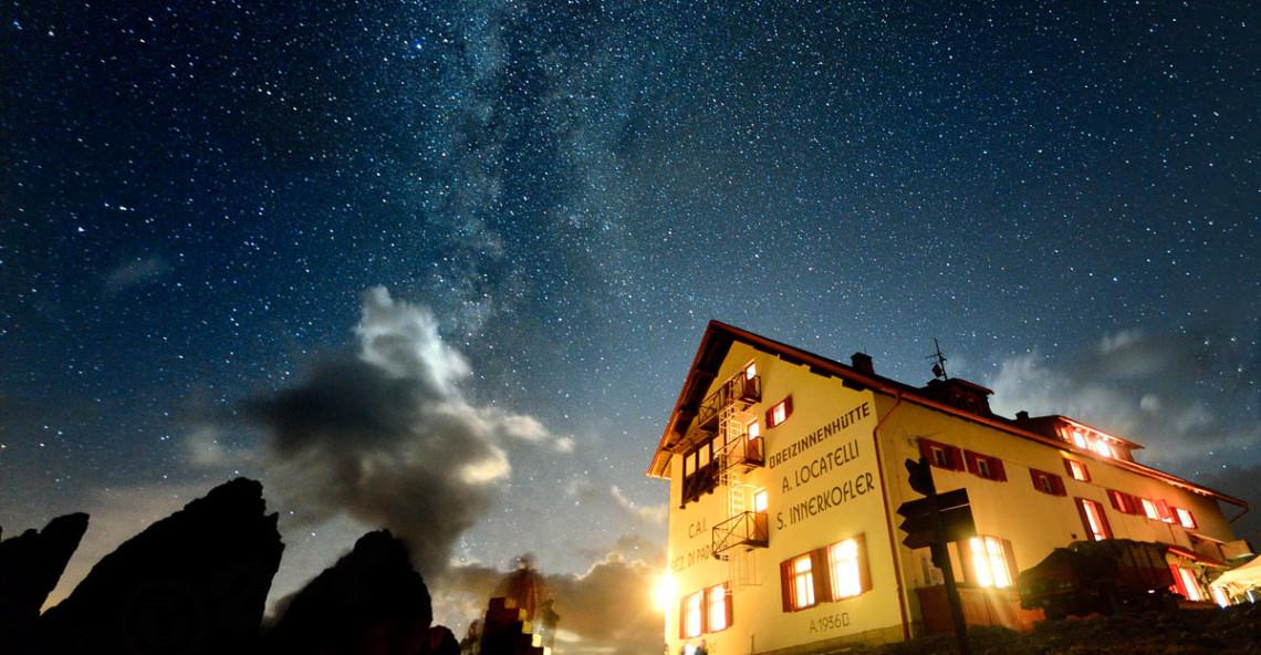 Tre Cime di Lavaredo – Workshop Fotografia notturna nelle Dolomiti di Sesto