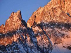 Il balcone sul Monte Bianco