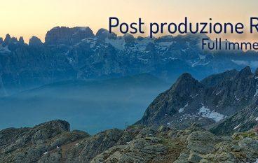 Dal file alla stampa, post-produzione RAW Lightroom® e Photoshop® a Bologna