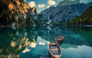 Esperienza fotografica Dolomiti in tenda, Braies e Croda del Becco