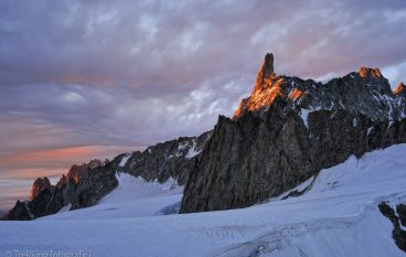 5 luoghi scelti dove fotografare l'alba o il tramonto nelle Alpi.