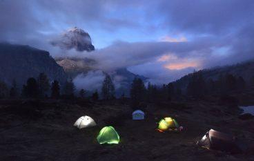 Alpi 2020 e Covid: Sarà l'anno dei trekking in tenda?